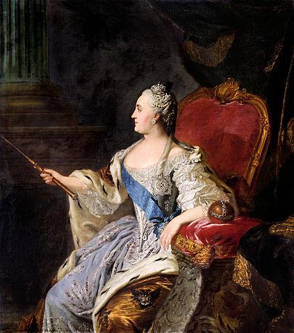 423px-Rokotov_Portrait_Catherine_II (via Wikipedia)