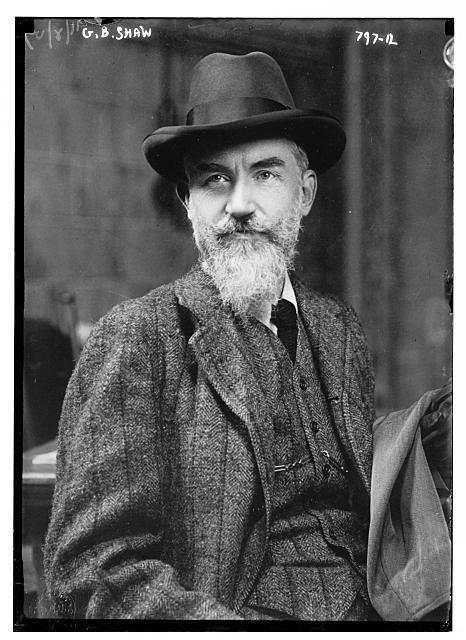GBShaw_1909 (via Wikipedia)