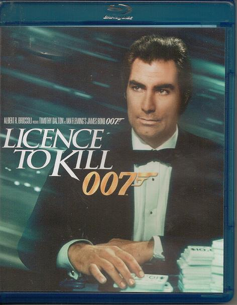 """My Copy Of """"Licence To Kill"""" (1989)"""