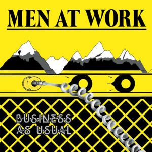 Men At Work - Business As Usual (1981) (via Amazon.com)
