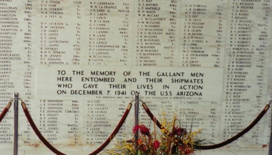Shot In 2000 At The U.S.S. Arizona Memorial. -Original Photo By Bradley Alan-