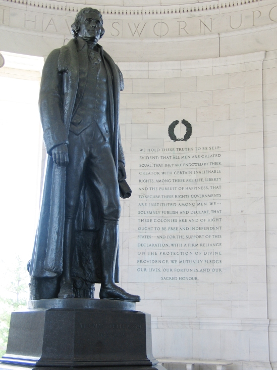 Jefferson_Memorial_with_Declaration_preamble (via Wikipedia)