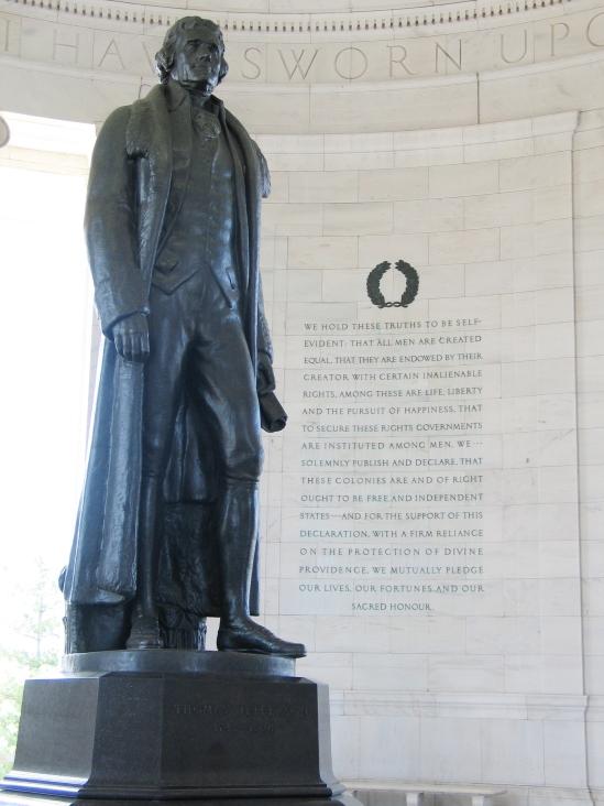 Jefferson_Memorial_with_Declaration_preamble (via Wikipedia)