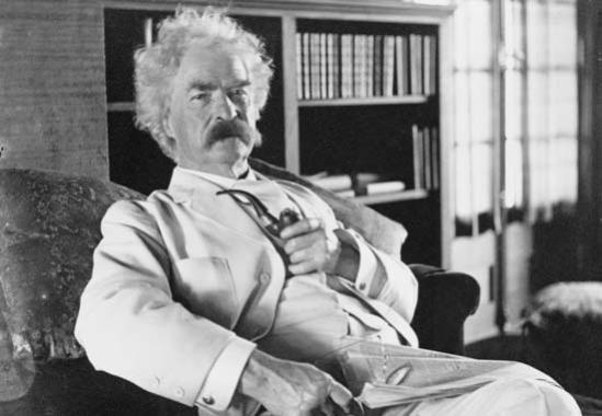 Mark Twain (via latimesblogs.latimes.com)