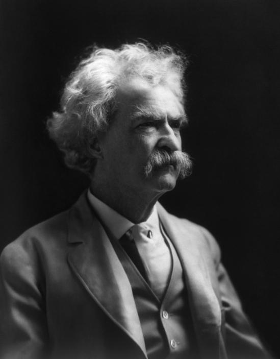 Twain1909 (via Wikipedia)