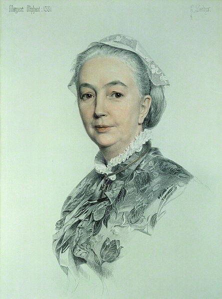 444px-Margaret_Oliphant_Wilson_Oliphant (via Wikipedia)