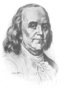 Benjamin Franklin (via mountaingenealogy.blogspot.com)