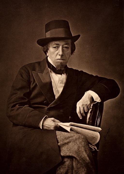 Benjamin_Disraeli_by_Cornelius_Jabez_Hughes,_1878 (via Wikipedia)