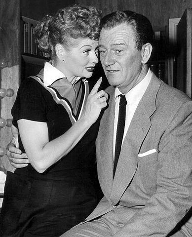 Lucille_Ball_John_Wayne_1955 (via Wikipedia)