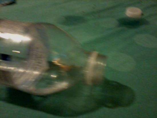 Open Water Bottle In My Bed