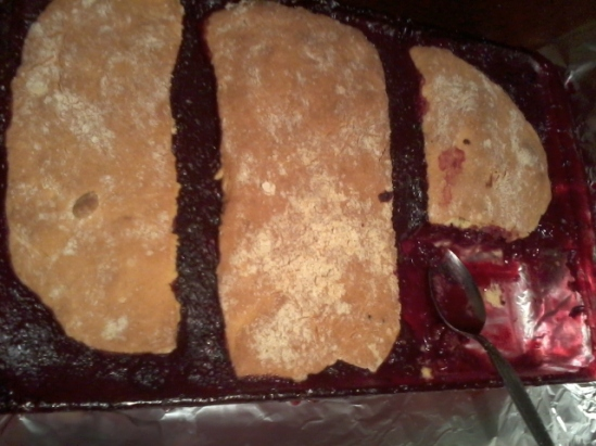 Blackberry Cobbler - 1